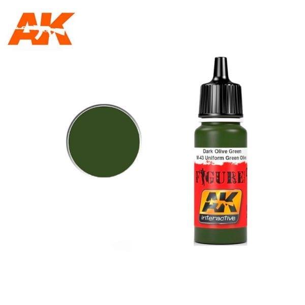 AK3071 acrylic paint figures akinteractive modeling