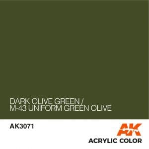 AK3071 DARK OLIVE GREEN