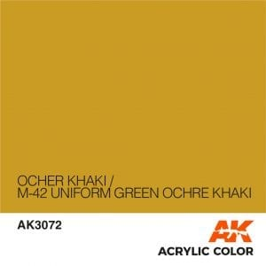 AK3072 OCHER KHAKI