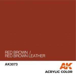 AK3073 RED BROWN
