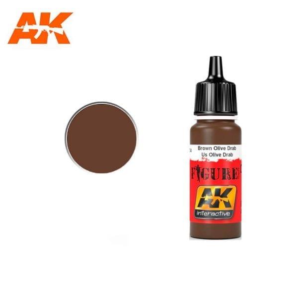 AK3074 acrylic paint figures akinteractive modeling