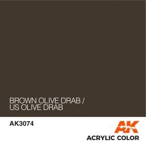 AK3074 BROWN OLIVE DRAB