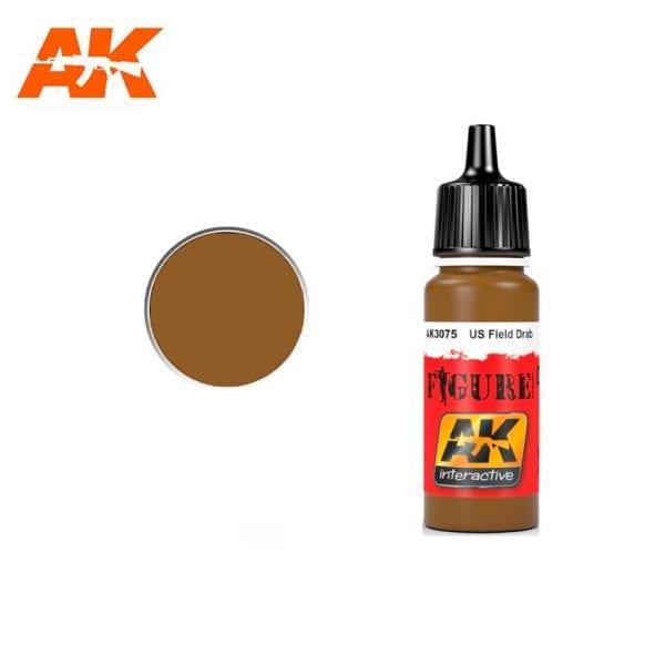 AK3075 acrylic paint figures akinteractive modeling