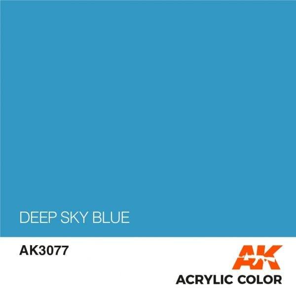 AK3077 DEEP SKY BLUE