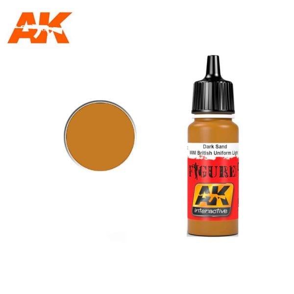 AK3082 acrylic paint figures akinteractive modeling