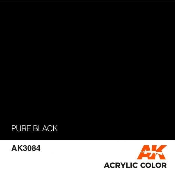 AK3084 PURE BLACK