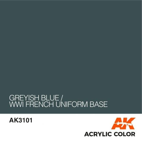 AK3101 GREYISH BLUE