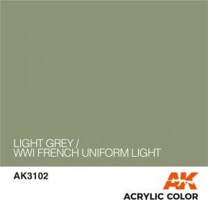 AK3102 LIGHT GREY