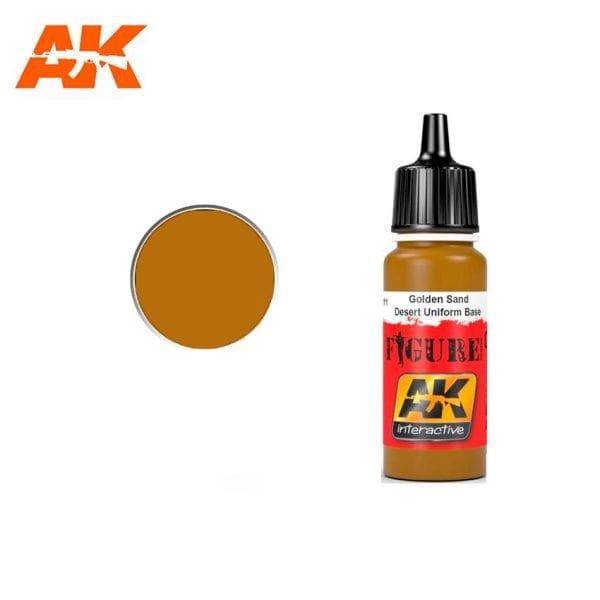 AK3111 acrylic paint figures akinteractive modeling