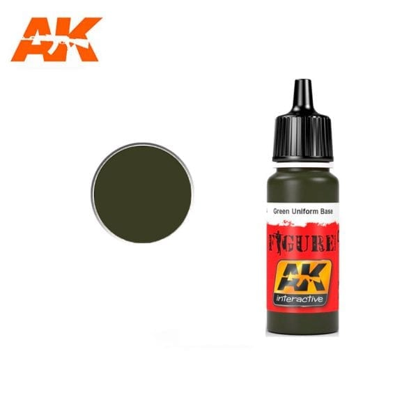 AK3114 acrylic paint figures akinteractive modeling