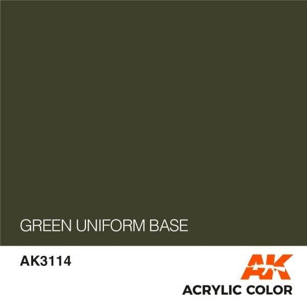 AK3114 GREEN UNIFORM BASE