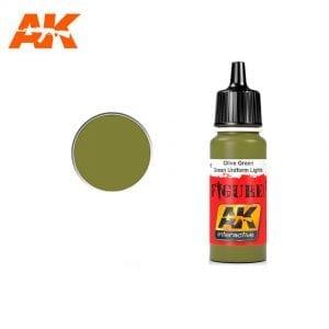 AK3115 acrylic paint figures akinteractive modeling
