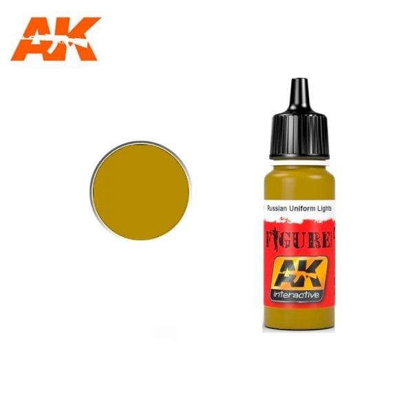AK3121 acrylic paint figures akinteractive modeling