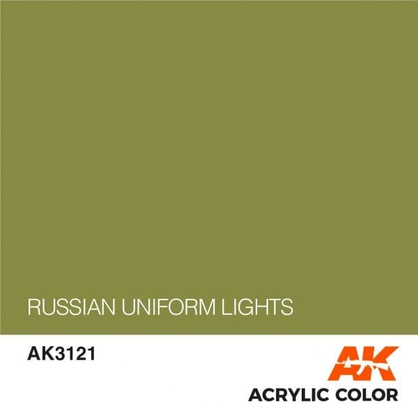 AK3121 RUSSIAN UNIFORM LIGHTS