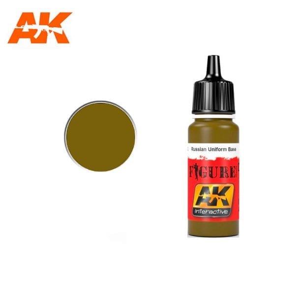 AK3122 acrylic paint figures akinteractive modeling