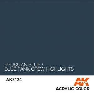 AK3124 PRUSSIAN BLUE