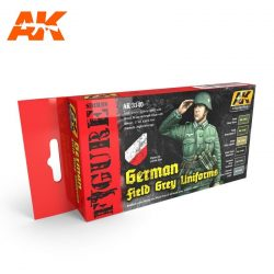 AK3140 acrylic paint set akinteractive modeling