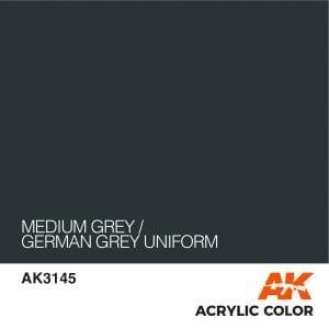 AK3145 MEDIUM GREY