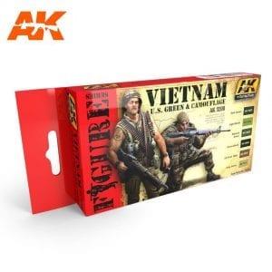 AK3200 acrylic paint set akinteractive modeling