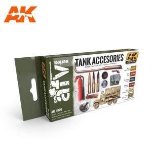 AK4000 acrylic paint set akinteractive modeling