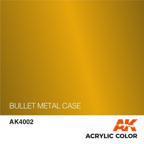 AK4002 BULLET METAL CASE