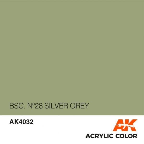 AK4032 BSC. Nº28 SILVER GREY