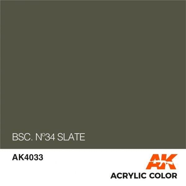 AK4033 BSC. Nº34 SLATE
