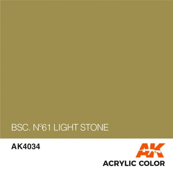 AK4034 BSC. Nº61 LIGHT STONE