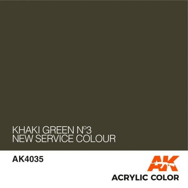 AK4035 KHAKI GREEN Nº3
