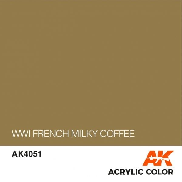 AK4051 WWI FRENCH MILKY COFFEE