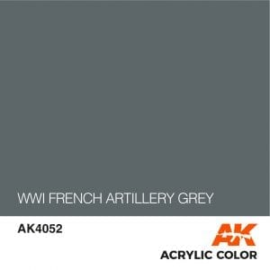 AK4052 WWI FRENCH ARTILLERY GREY