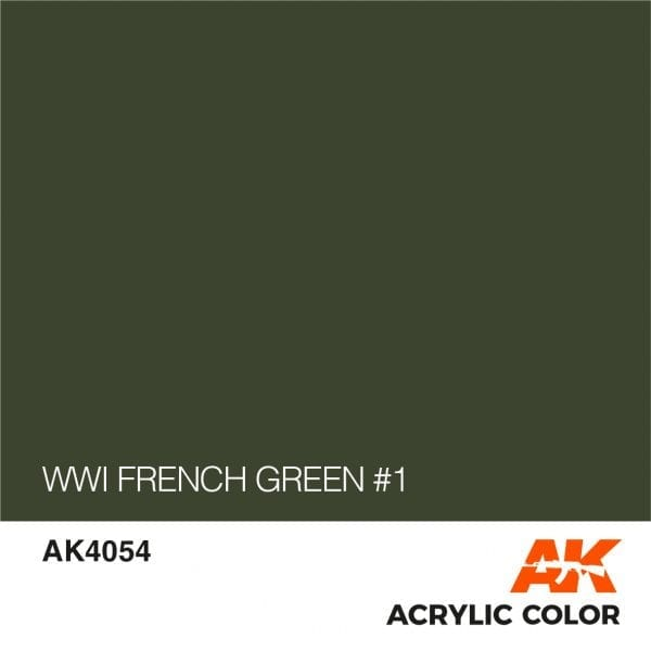 AK4054 WWI FRENCH GREEN #1
