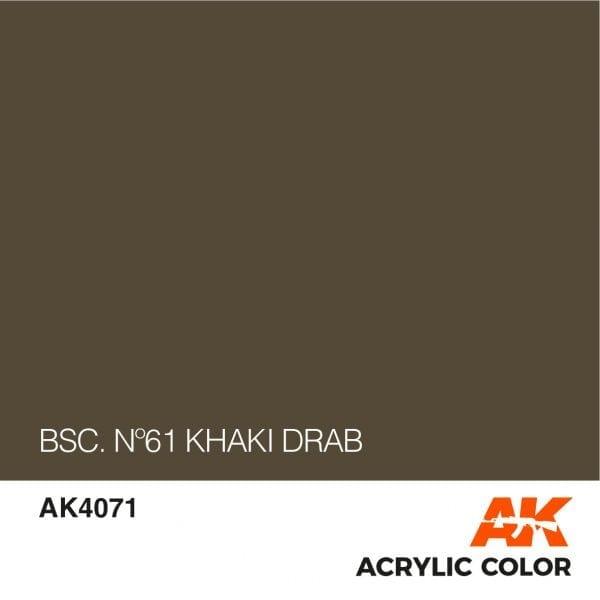 AK4071 BSC. Nº61 KHAKI DRAB