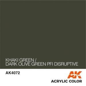 AK4072 KHAKI GREEN