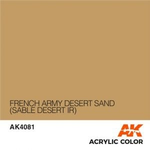 AK4081 FRENCH ARMY DESERT SAND