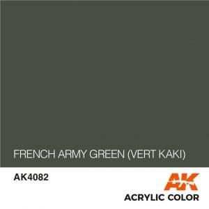 AK4082 FRENCH ARMY GREEN (VERT KAKI)