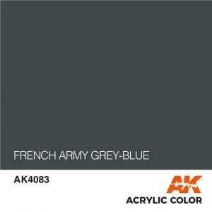 AK4083 FRENCH ARMY GREY-BLUE