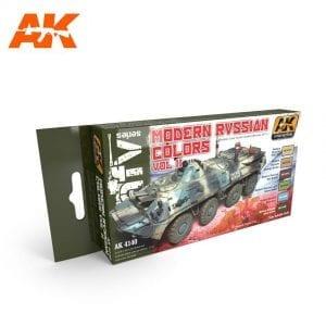 AK4140 acrylic paint set akinteractive modeling