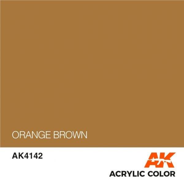 AK4142 ORANGE BROWN