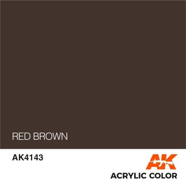 AK4143 RED BROWN