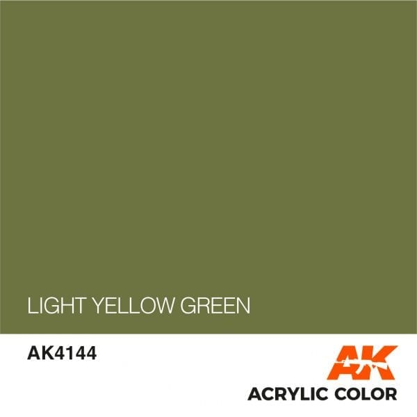 AK4144 LIGHT YELLOW GREEN