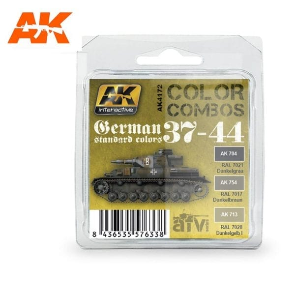 AK4172 acrylic paint set akinteractive modeling
