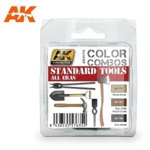 AK4174 acrylic paint set akinteractive modeling