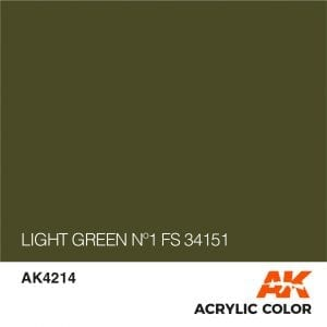 AK4214 LIGHT GREEN Nº1 FS 34151