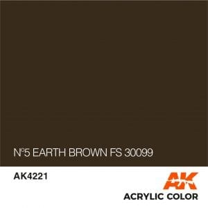 AK4221 Nº5 EARTH BROWN FS 30099