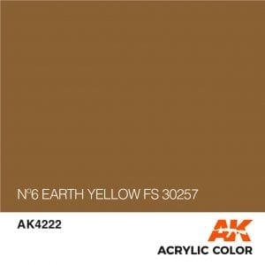 AK4222 Nº6 EARTH YELLOW FS 30257