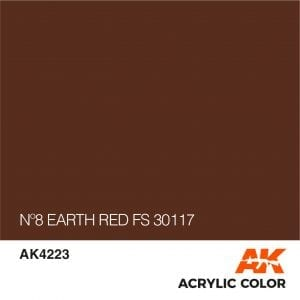 AK4223 Nº8 EARTH RED FS 30117