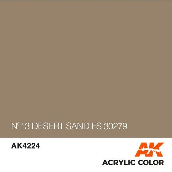 AK4224 Nº13 DESERT SAND FS 30279