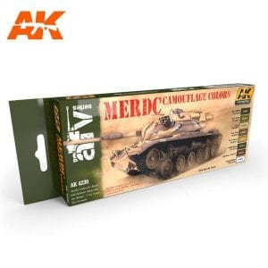 AK4230 acrylic paint set akinteractive modeling