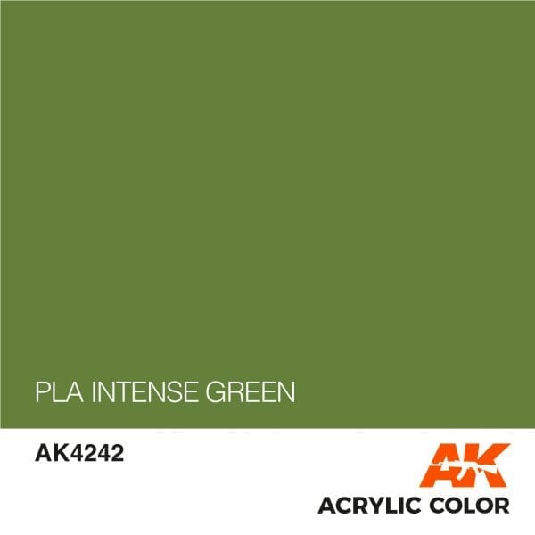 AK4242 PLA INTENSE GREEN